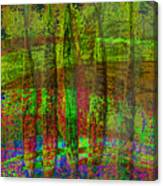 Luminous Landscape Abstract Canvas Print