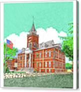 Luna County Court House  Deming  N M   Canvas Print
