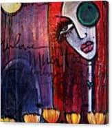 Luna Our Love Muertos Canvas Print