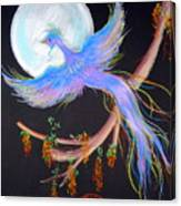 Luna Phoenix Canvas Print