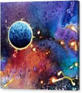 Luna Violet Canvas Print