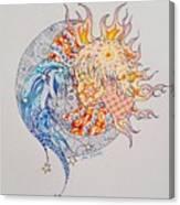 Lunasol Canvas Print
