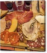 Lunch Fraschetta Canvas Print