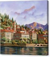 lungolago di Bellagio Canvas Print
