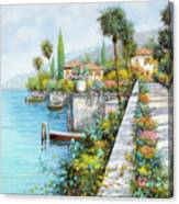 Lungolago Canvas Print