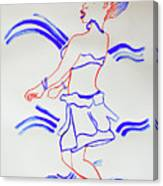Luo Dance Acholi Tribe Uganda Canvas Print