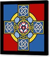 Lutheran Cross Canvas Print