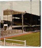 Luton Town - Kenilworth Road - Main Stand East Side 1 - 1970s Canvas Print