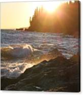 Lutsen Shore Canvas Print