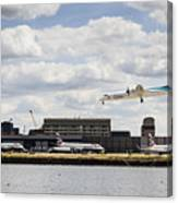 Lux Air London City Airport Canvas Print