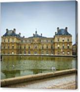 Luxembourg Palace Canvas Print