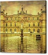 Luxembourg Palace Paris Canvas Print