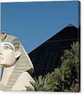 Luxor Hotel Las Vegas Canvas Print