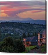 Luxury Homes In Happy Valley Oregon Canvas Print