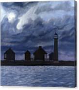 Lydia Ann Lighthouse Canvas Print