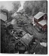 Lykens Valley Mining Canvas Print