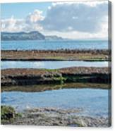 Lyme Regis Seascape 2 - October Canvas Print