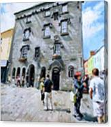 Lynches Castle Galway City Canvas Print