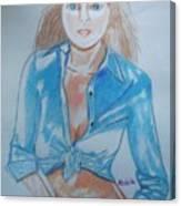 Lynda Carter Wonder Woman  Canvas Print
