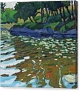 Lyndhurst Lake Canvas Print
