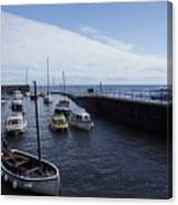 Lynmouth Harbour Canvas Print
