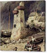 Lynmouth In Devonshire Canvas Print