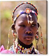 Maasai Beauty Canvas Print