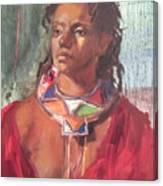 Maasai Pride Canvas Print