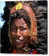 Maasai Warrior Canvas Print