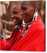 Maasai Women Canvas Print