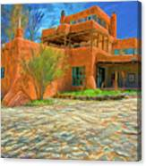 Mabel Dodge Luhan House As Oil Canvas Print