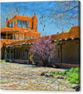 Mabel's Courtyard Canvas Print