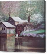 Mabry Mills Canvas Print