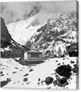 Machhapuchchhre Base Camp - The Himalayas Canvas Print