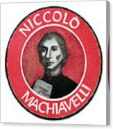 Machiavelli Canvas Print