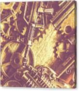 Machine Guns Canvas Print