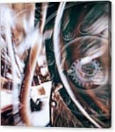 Machine Speed Warp In Blur Canvas Print