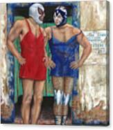 Macho Menos Canvas Print