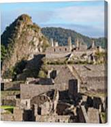 Machu Picchu City Archecture Canvas Print