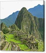 Machu Picchu - Iconic View Canvas Print