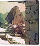 Machu Picchu Vista- Peru Canvas Print