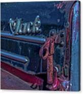 Mack In Retirement  Canvas Print