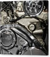 Mack Truck Display Engine Canvas Print