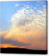 Mackerel Sky Canvas Print