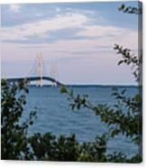 Mackinac Bridge 1 Canvas Print