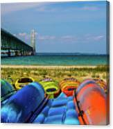 Mackinac Bridge 2240 Canvas Print
