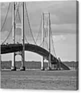 Mackinac Bridge 6111 Canvas Print