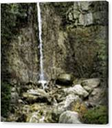 Mackinaw City Park Waterfalls 1 Canvas Print