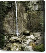 Mackinaw City Park Waterfalls Canvas Print