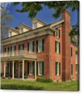 Maclay House Tipton Mo Built In 1858 Dsc01873 Canvas Print